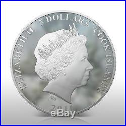 Cook Islands 2011 $5 Cartoon Once Upon a Dog Dog 1 Oz Silver Coin LIMITED