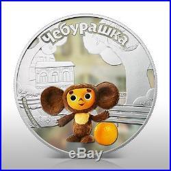 Cook Islands 2011 $5 Cheburashka Cartoon SET 3x 1Oz Silver Coin SET Mintage300