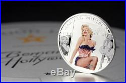 Cook Islands 2011 Marilyn Monroe 85th Anniversary 25g Silver Proof Coin Diamond