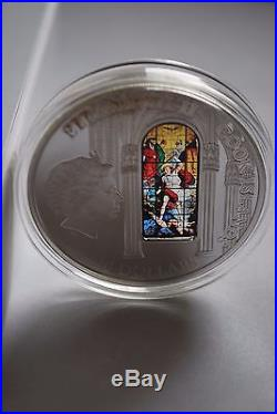 Cook Islands 2012 10$ WINDOWS OF HEAVEN CATHEDRAL of MILANO 50g Silver Coin