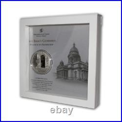 Cook Islands 2012 10$ Windows Of Heaven St Petersburg Isaac Silver Coin 7
