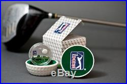 Cook Islands 2012 $5 PGA TOUR Golf Ball 20g Silver Proof Coin with Inlay
