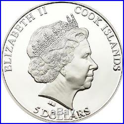 Cook Islands 2012 $5 Seymchan Meteorite 20g Silver Proof Coin with Insert