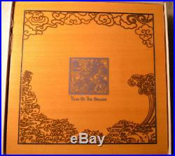 Cook Islands 2012 Lunar The Year of the Dragon, 4x 1/2 Oz Silver Proof Coin Set