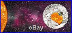 Cook Islands 2013 10$ NANO SPACE Exploration of Universe Silver Coin
