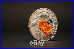 Cook Islands 2013 $10 Nano Space Exploration of the Universe 50 g Silver Coin