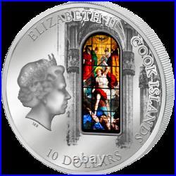 Cook Islands 2013 10$ Windows of Heaven Milan Duomo Cathedral Silver Coin 10