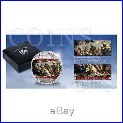 Cook Islands 2013 20$ Adoration of the Kings MoA 3oz Proof Ag Coin