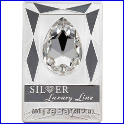 Cook Islands 2013 20$ Silver Luxury Line (White) 100 g Proof Silver Coin