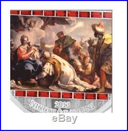 Cook Islands 2013 20$ The Adoration of the Kings Masterpieces 3 Oz Silver Coin