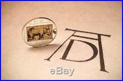 Cook Islands 2013 $5 Albrecht Durer Rhinoceros Silver Coin Mintage only 2500