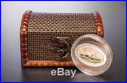 Cook Islands 2013 5$ SS Republic 1853-1865 Silver Coin