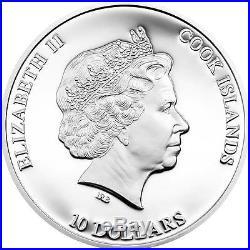 Cook Islands 2014 10$ Nano Sea Depths of the Sea 50g Silver Proof Coin