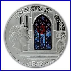 Cook Islands 2014 10$ Windows Of Heaven Washington Meteorite Silver Coin 13