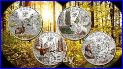 Cook Islands 2014 $2 World of Hunting III Pheasant 1/2 Oz Silver Proof Coin