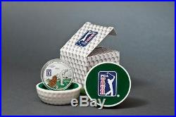 Cook Islands 2014 $5 PGA TOUR Golf Bag 20g Silver Proof Coin with Insert
