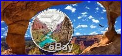 Cook Islands 2014 $5 Spectacular Landscapes Grand Canyon 20g Silver Proof Coin