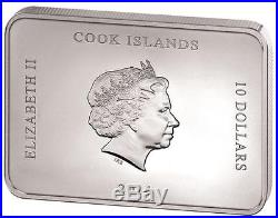 Cook Islands 2014 Grand Interiors Palace of Caserta 2.5 Oz Silver Coin Marble
