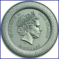 Cook Islands 2015 10$ FLINDERS STREET STATION Melbourne 2 Oz Silver Coin