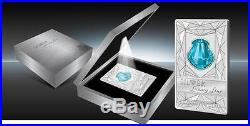 Cook Islands 2015 $20 Silver Luxury Line Swarovski Shell 100g Silver Proof Coin