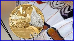 Cook Islands 2015 $5 Shades of Nature Butterfly 25g Silver Proof Coin