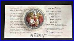Cook Islands 2015 Phoenix from the Ashes $20 Silver High Relief Coin 3oz
