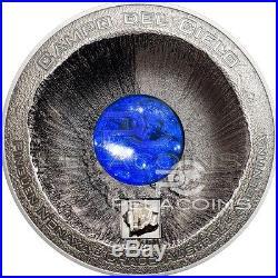 Cook Islands 2016 20$ Campo del Cielo Meteorite 3oz Silver Coin only 333pcs