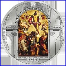 Cook Islands 2016 20$ Masterpieces of Art Easter Edition Proof Silver Coin