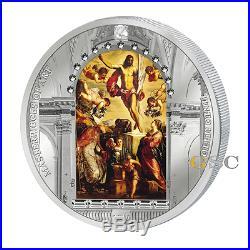 Cook Islands 2016 20$ Resurrection Jesus Tintoretto Masterpieces of Art coin
