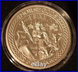 Cook Islands 2016, Norse Gods Frigg, 2 oz fine Silver Coin