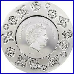 Cook Islands 2017 $5 Murrine Millefiori Glass Art 20g Silver Proof Coin