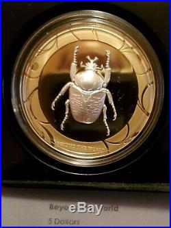 Cook Islands 2017 $5 Scarab Selection II 3x1oz Silver Proof Coins Set