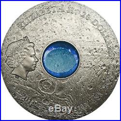 Cook Islands 2018 20$ Meteorite Vesta the Largest Astroid 3oz Silver Coin