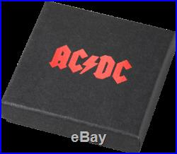 Cook Islands 2018 $2 ACDC High Voltage 1/2 oz Proof Silver Coin