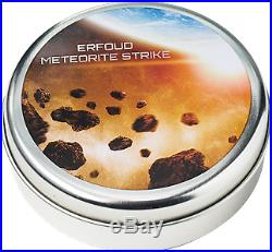 Cook Islands 2018 2$ Erfoud Meteorite NWA 1/2 Oz. 999 Silver Coin. Limited