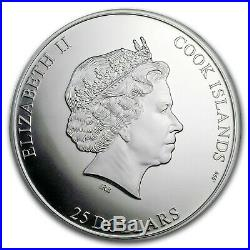 Cook Islands 2018 SEVEN SUMMITS AGONCOGUA 5 oz. 999 Silver Coin