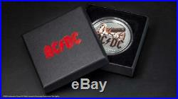 Cook Islands 2019 $2 ACDC For Those About to Rock 1/2 oz Proof Silver Coin