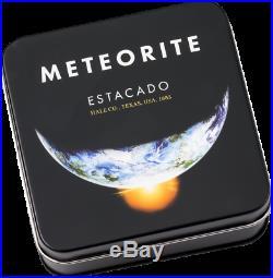 Cook Islands 2019 2$ Estacado Meteorite 1/2 Oz Silver Coin. Limited Edition