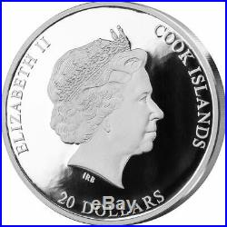 Cook Islands 2020 20$ Masterpieces of Art RAFFAELO SANZIO ANGELS 3oz Silver Coin