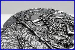 Cook Islands 2021 Titans Cronus 20$ silver coin 3 oz