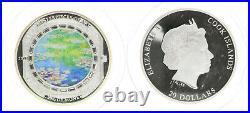 Cook Islands 20 Dollars 2015 3 Unzen Silber Meisterwerke der Kunst 54993