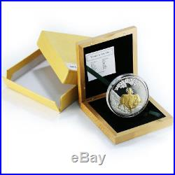Cook Islands, 25 Dollars, Year of the Ox, Silver Proof Coin 2009