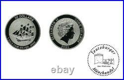 Cook Islands 30 Dollar 2020 1 Kilo 999 Silber Die Bounty St