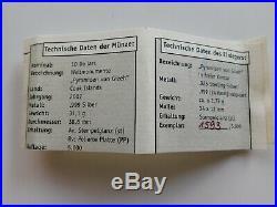 Cook Islands 5 x 10 Dollars 2006-2008 Lot 5 Silber Skulpturmünzen +5 Zfk pp(1)