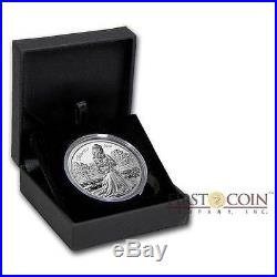 Cook Islands GUINEVERE WIFE KING ARTHUR 2016 LEGEND CAMELOT $10 Silver Coin 2 oz