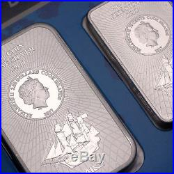 Cook Islands New Generation Bounty 4 x 999 Münzbarren Silberbarren 85 Gramm