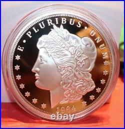 Cook Islands Twenty Dollar 1964 Silver Morgan Coin AG 3oz. 999