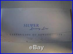 Cook Islands Year 2011 Luxury Line Silver 999 Proof Coin 100 Gr. Box Coa Perfect