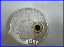 Cook islands 2005 Battle of Trafalgar 10 Dollars 5oz Silver Proof Coin