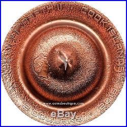 EFROUD METEORITE NWA 6827 silver coin Cook Islands 2018
